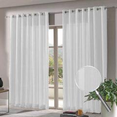 imagem de uma sala usando cortina